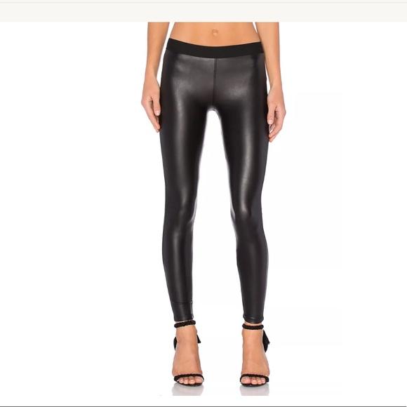 8b9232eb381d1e David Lerner Pants | Barlow Faux Vegan Leather Leggings | Poshmark